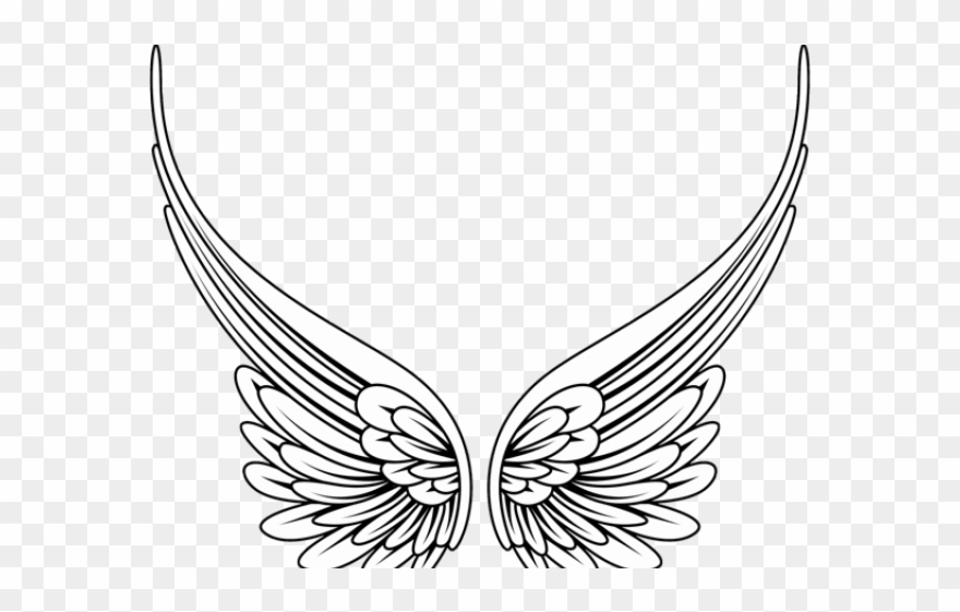 Angel png pinclipart . Wing clipart transparent