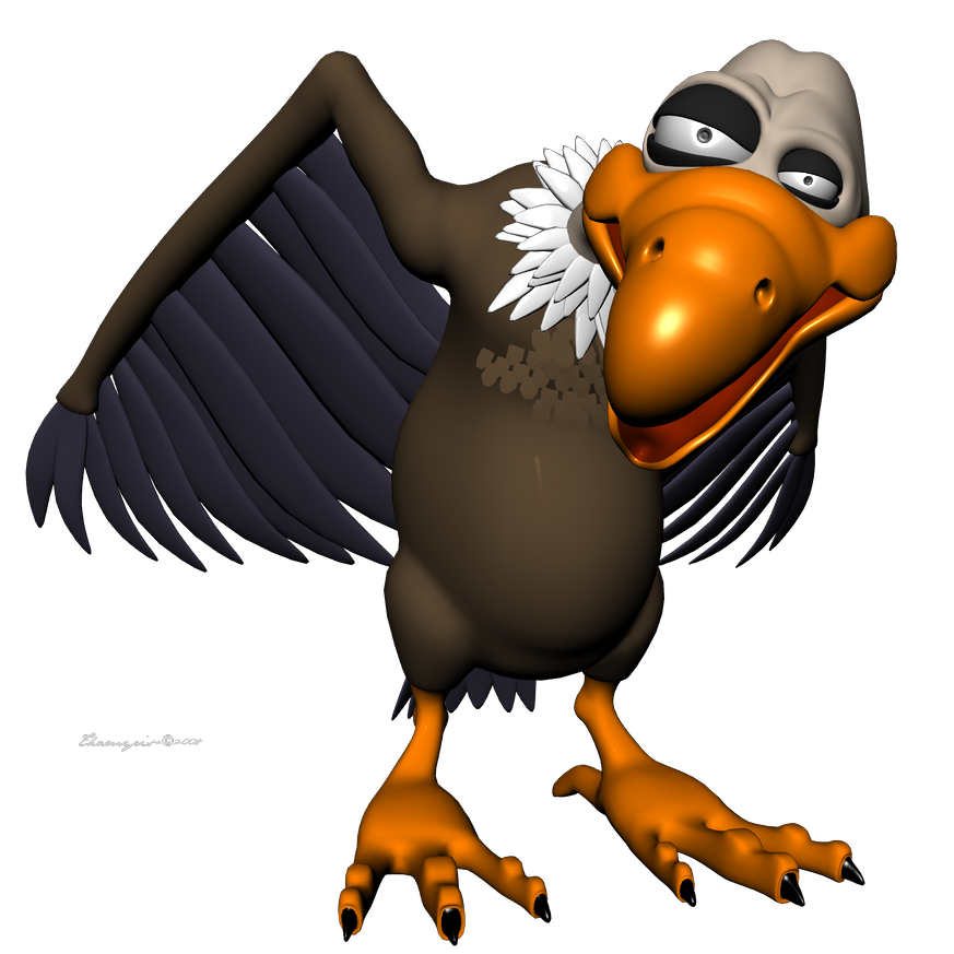 Wing clipart vulture. By thamyris on deviantart