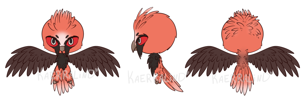 C bearded kwami by. Wing clipart vulture