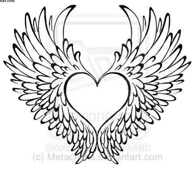 Wing clipart wing hd. Pin on angels tattoo