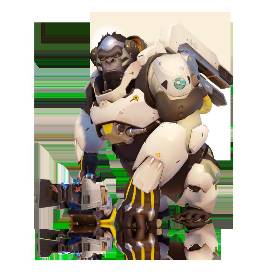 Winston overwatch png. Death battle fanon wiki
