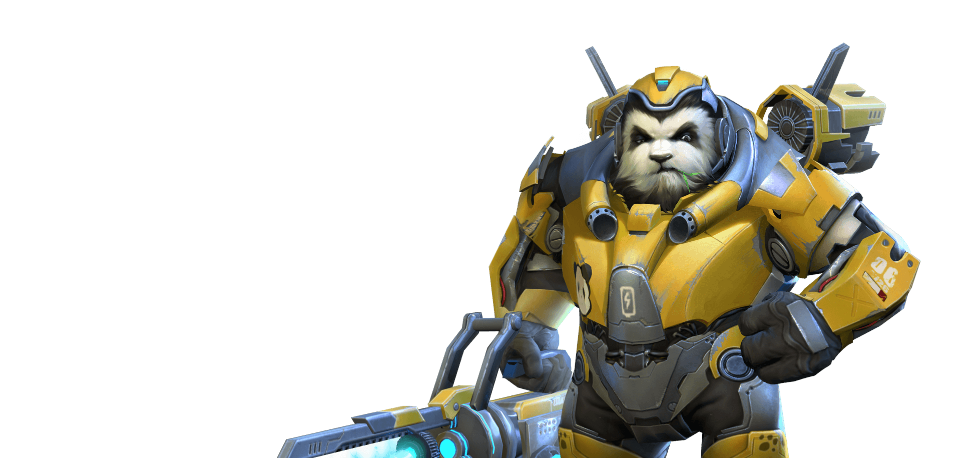 Winston overwatch png. Chinese clone has some