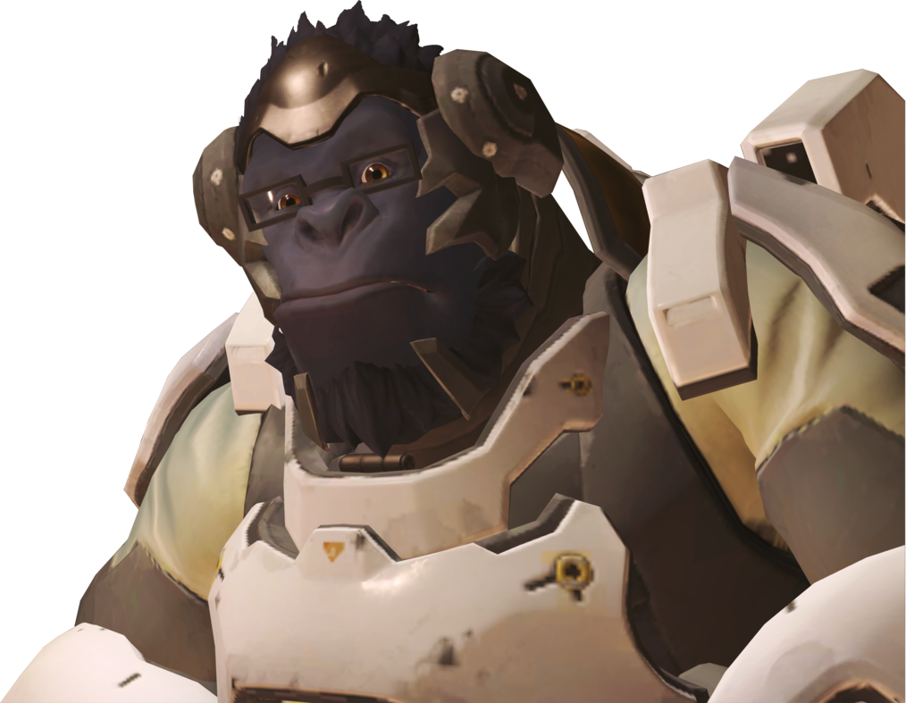 Winston overwatch png. Normal x by smashroyale