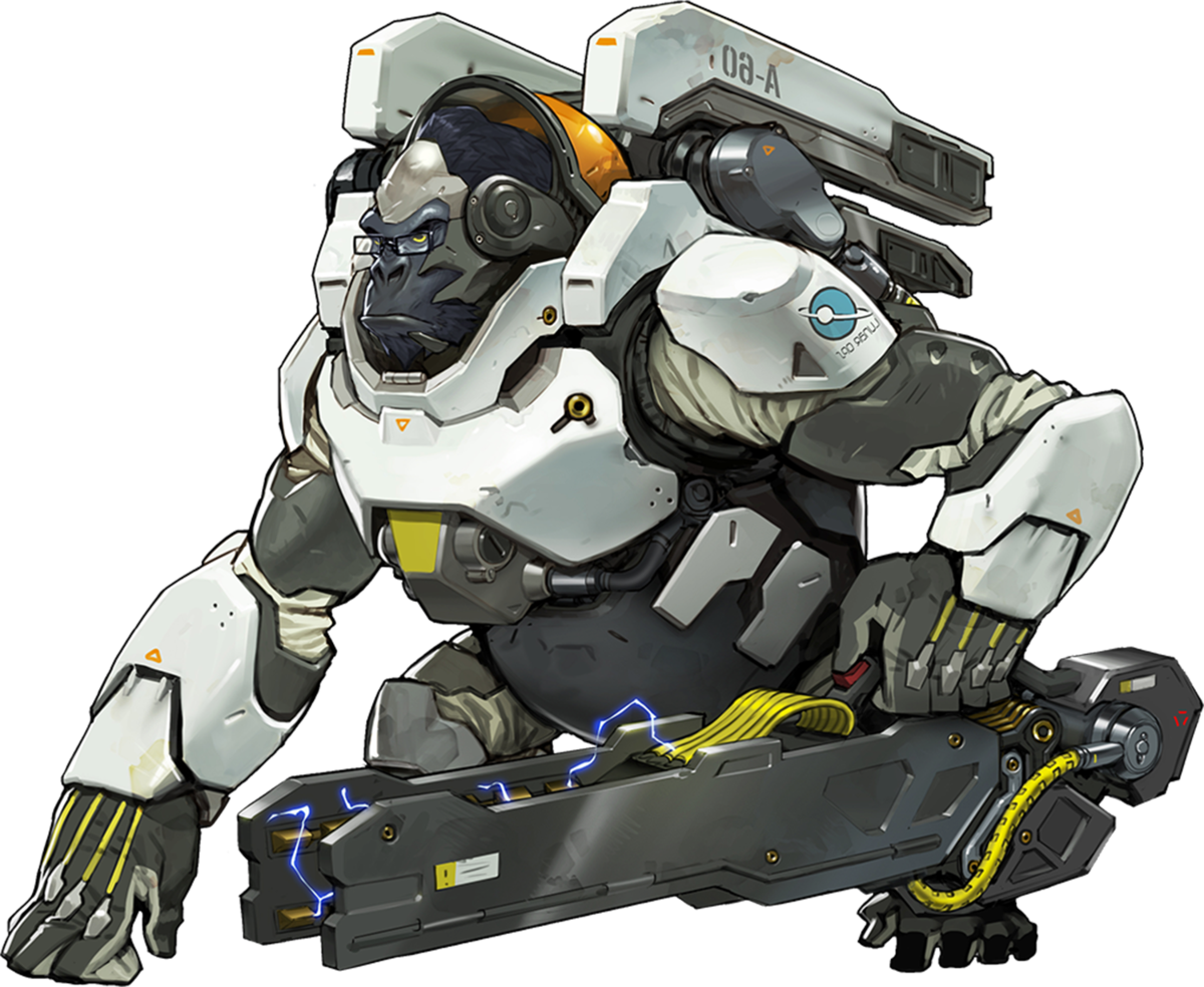 Wiki . Winston overwatch png