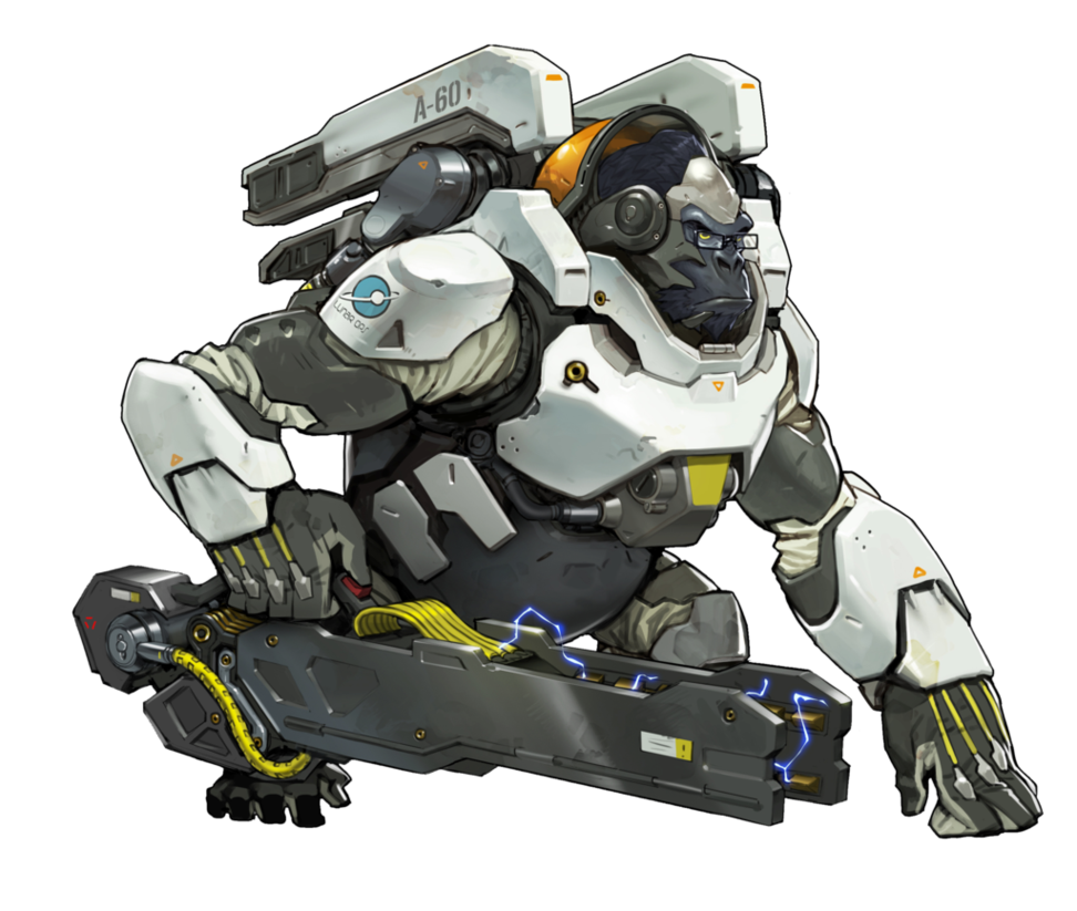 By plank on deviantart. Winston overwatch png