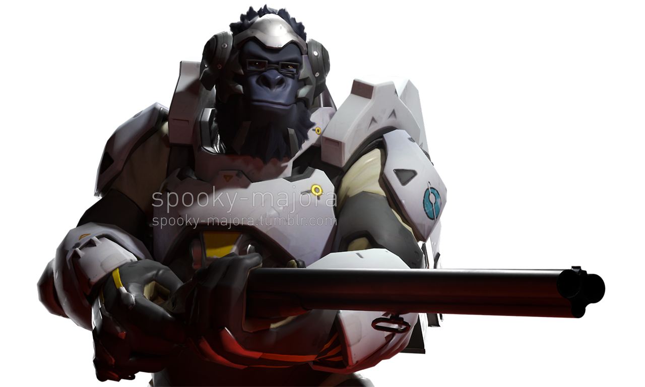 In the game early. Winston overwatch png