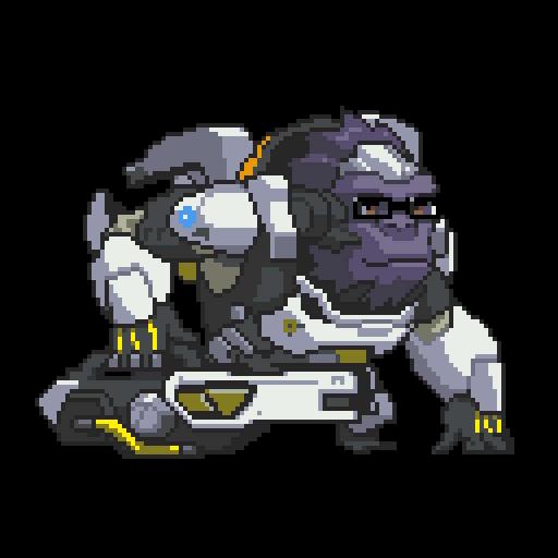 Winston overwatch png. Image pixel wiki fandom