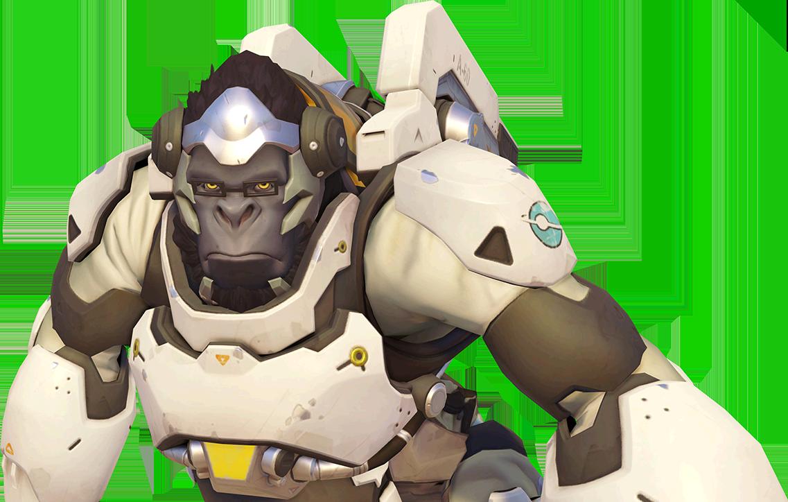 Image portrait wiki fandom. Winston overwatch png