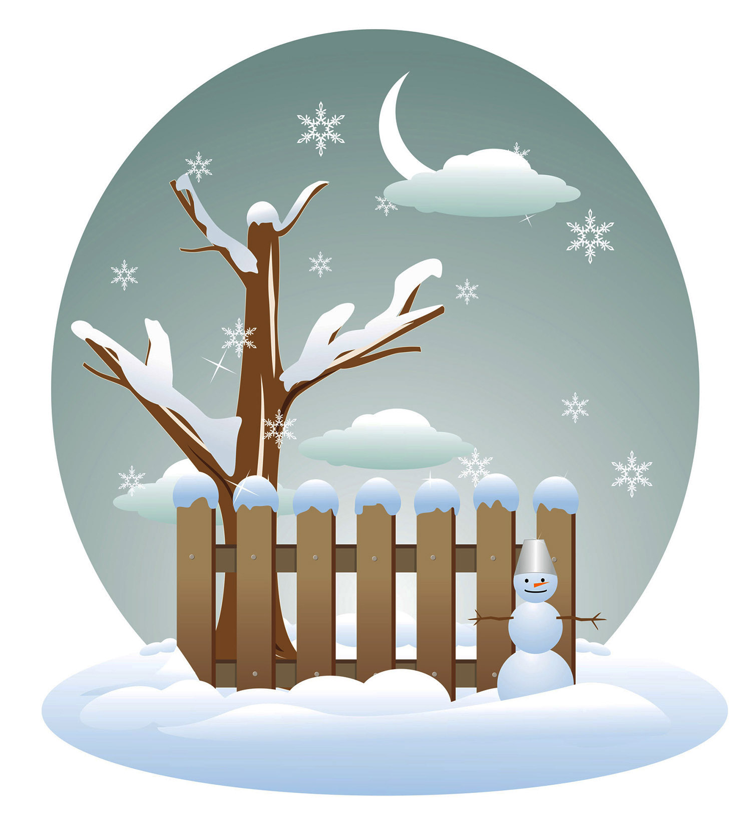 Winter clipart. Group seasons of the