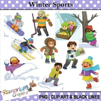 Winter clipart activity. Clip art library