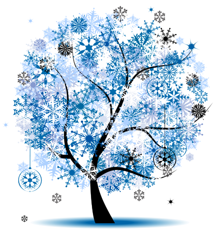 Winter clipart autumn. Black and white flower