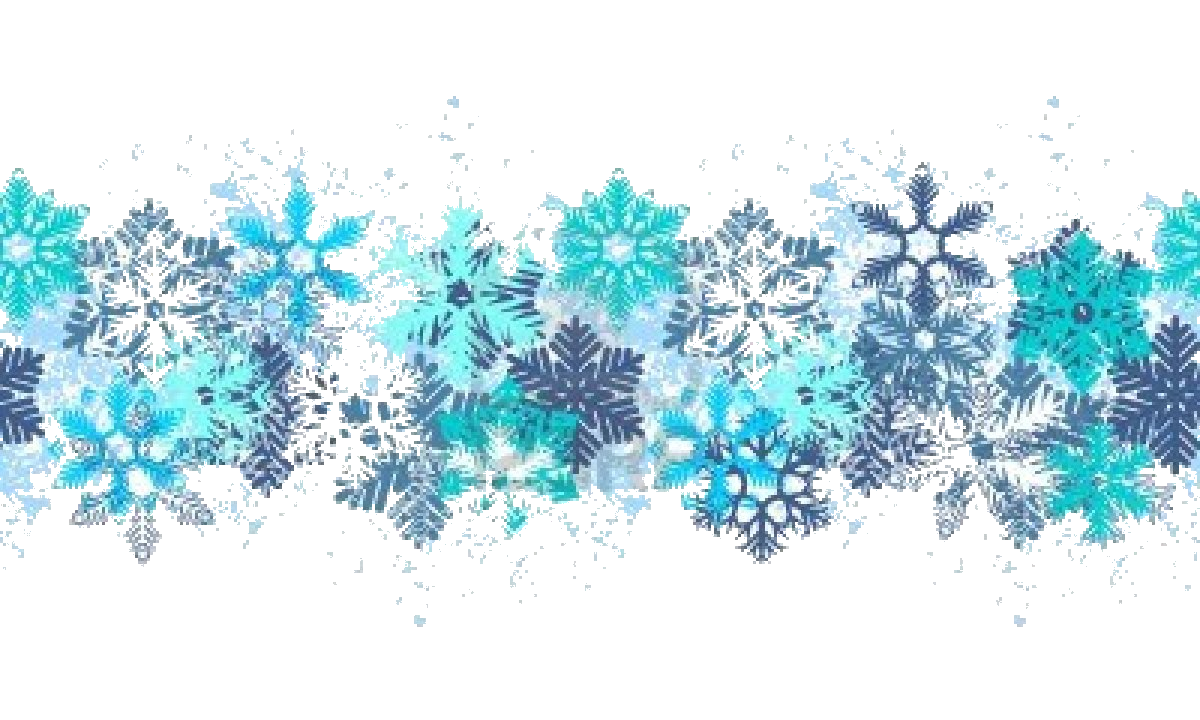 Winter clipart banner. Free on transparent png