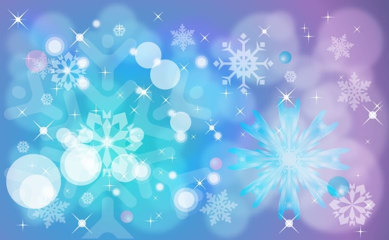 Free images vector background. Winter clipart blue