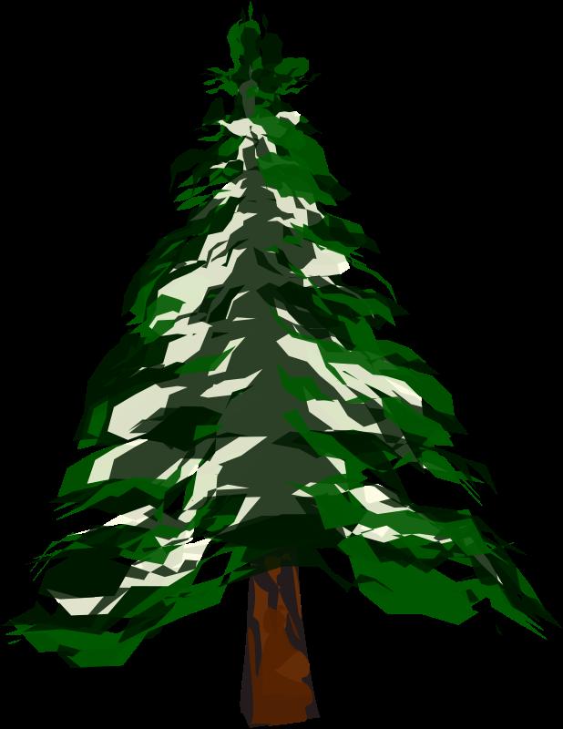 Winter clipart christmas tree. Medium image png