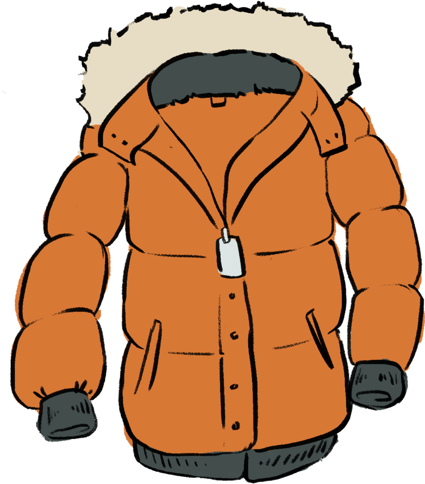 Winter clipart coat. Hd out in the