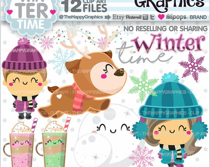 Winter clipart craft. Off graphics commercial use