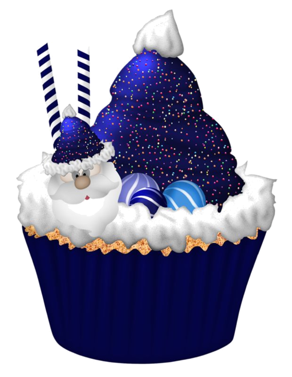 Image du blog zezete. Winter clipart cupcake