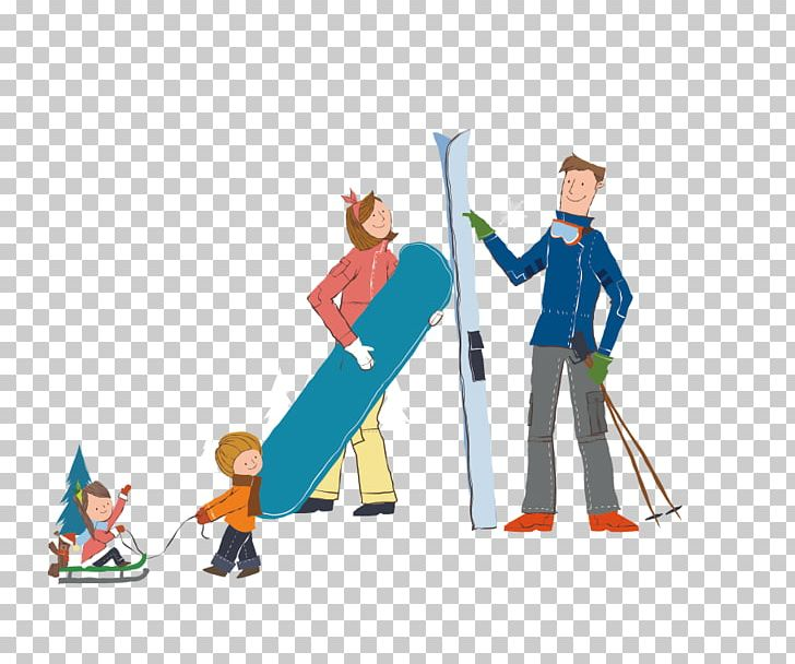 Winter clipart family. Skiing ice skating png