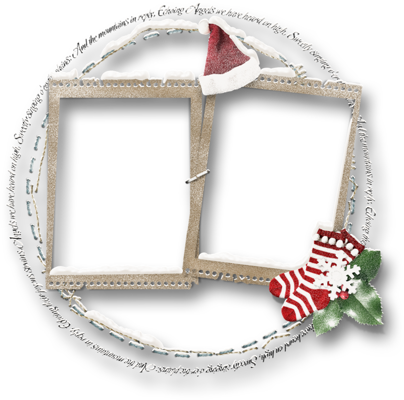 Winter clipart frame. Cluster overlas png holidayswinter