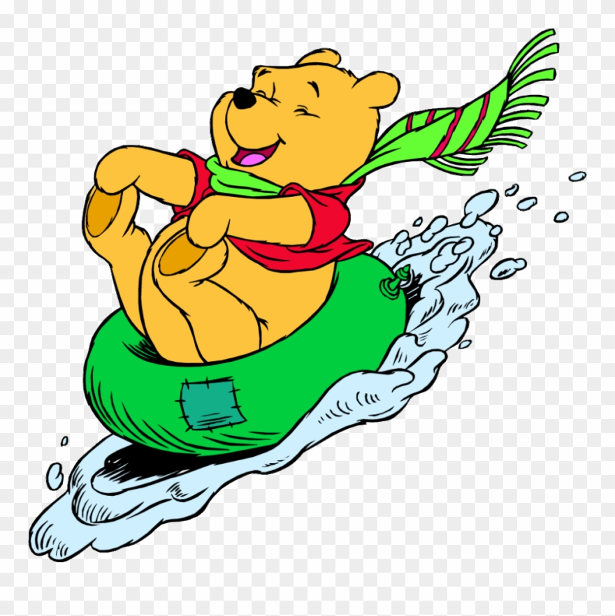 Winnie the pooh png. Winter clipart golf