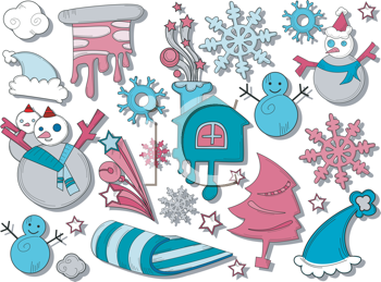 Royalty free image of. Winter clipart icon
