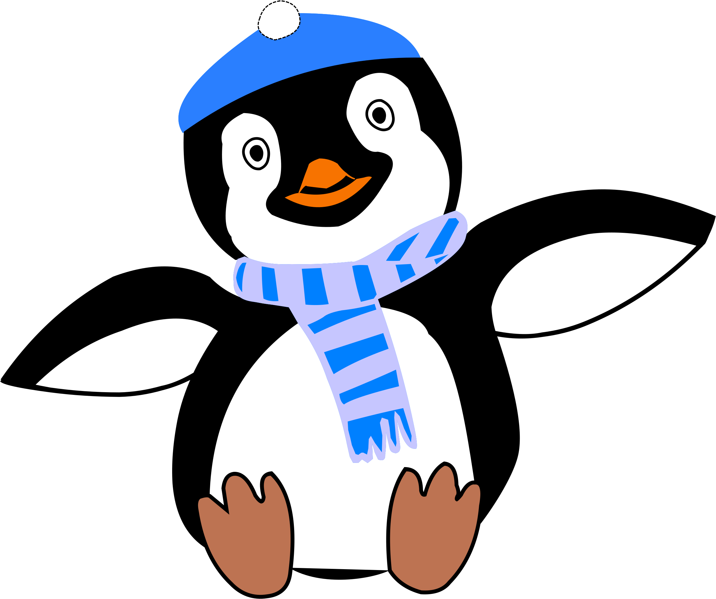 Winter clipart icon. Pinguin im icons png