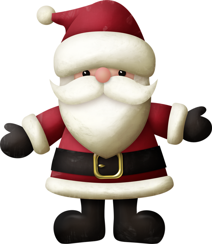 Kaagard merrychristmas santa png. Winter clipart morning