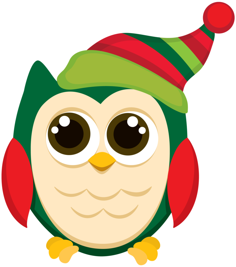 Christmas clip art pinterest. Winter clipart owl