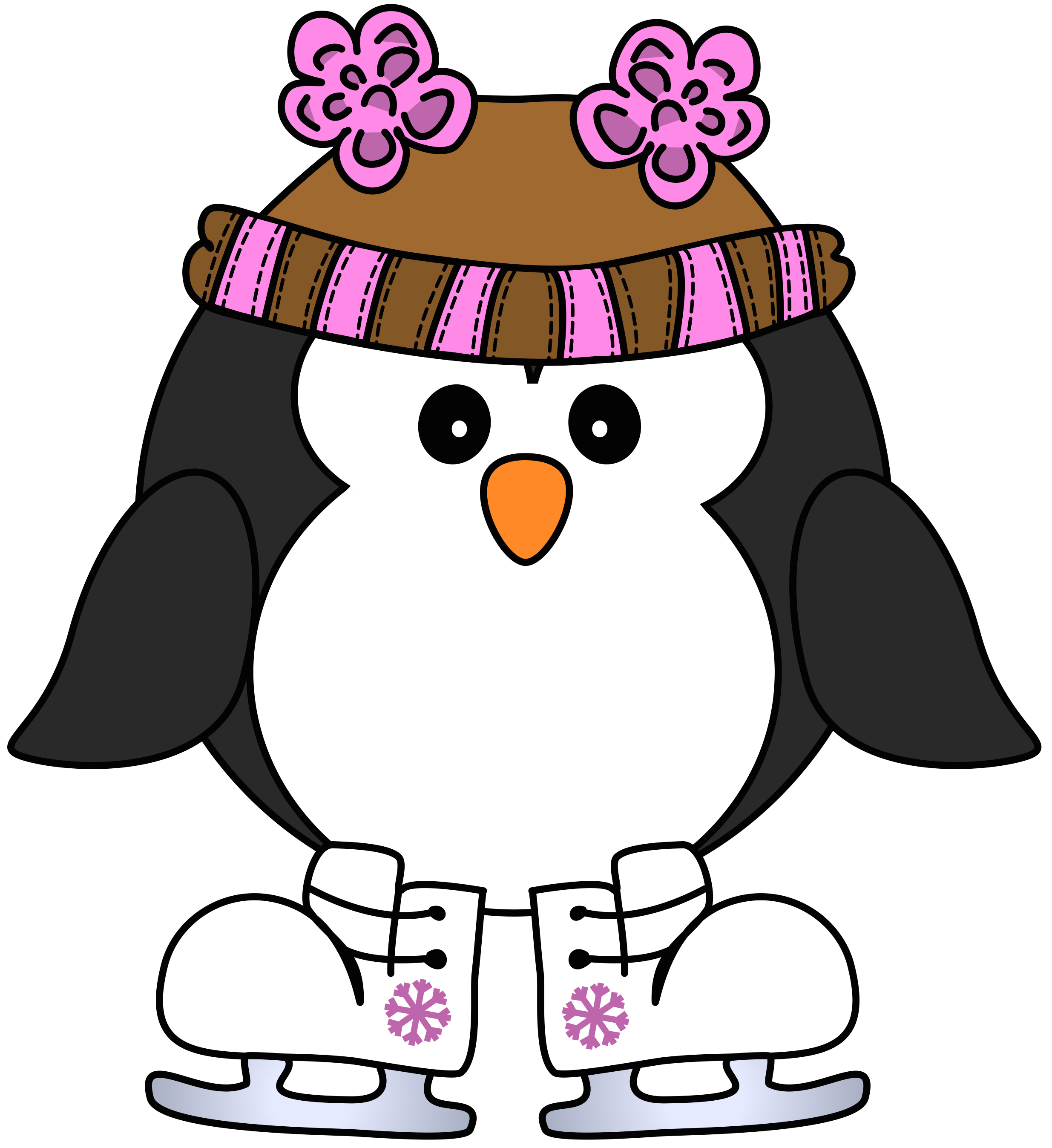 Winter clipart person. At getdrawings com free
