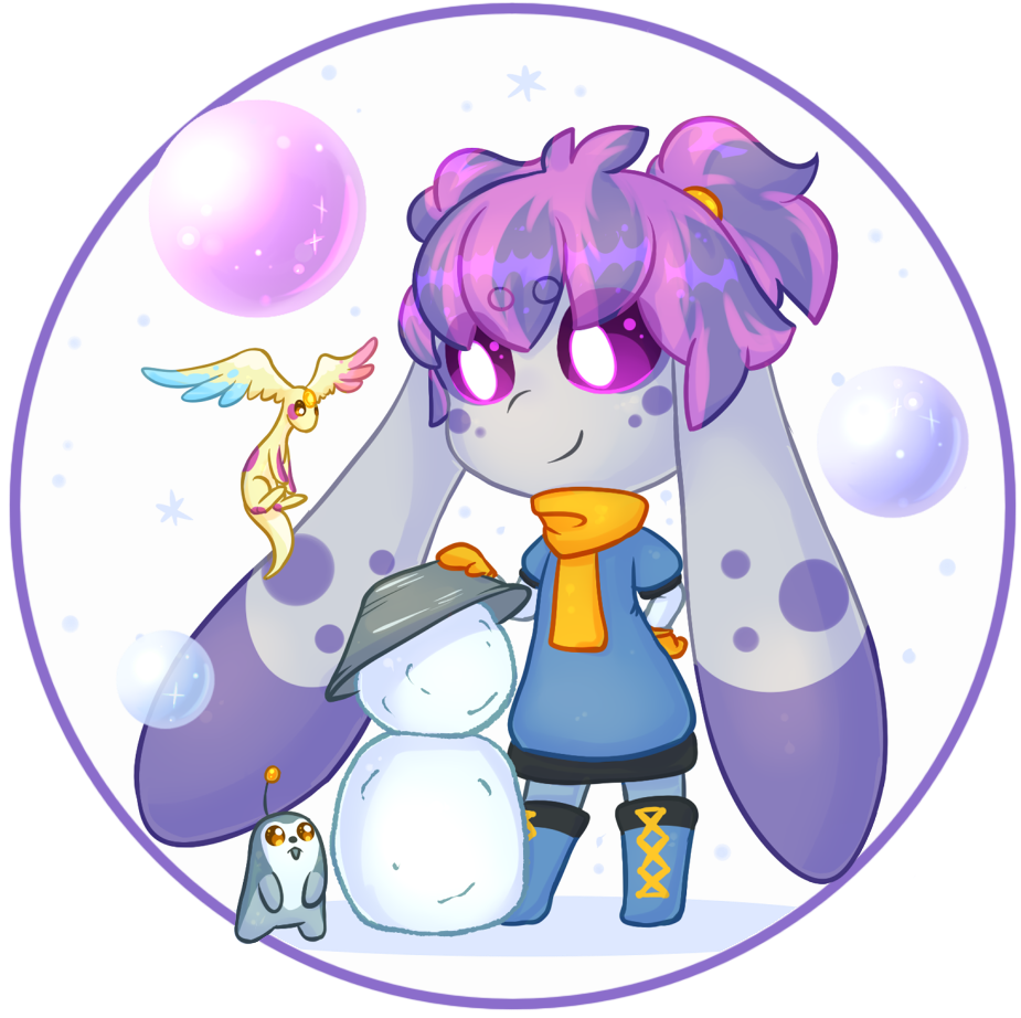 Winter clipart purple. Bub chi deviantart activities