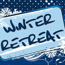 Winter clipart retreat. X stream youth efc