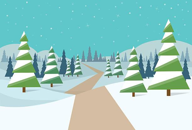 Winter clipart road. X free clip art