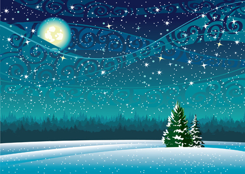 Winter clipart scenery. Free beautiful cliparts download