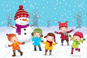 Winter clipart season. Kids in portal