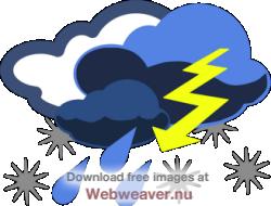. Winter clipart storm