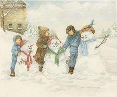 best fun images. Winter clipart victorian