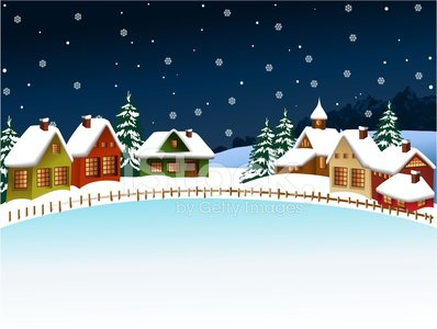Premium clipartlogo com . Winter clipart village