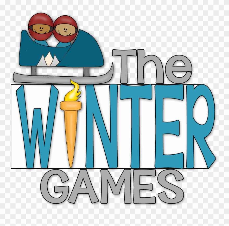 Games whole color grammar. Winter clipart word