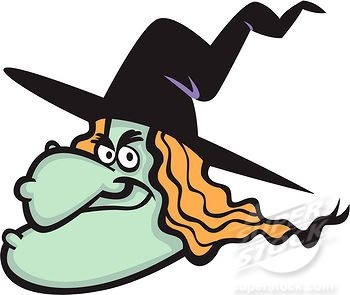 Witch clipart bad witch. Evil kid clipartix