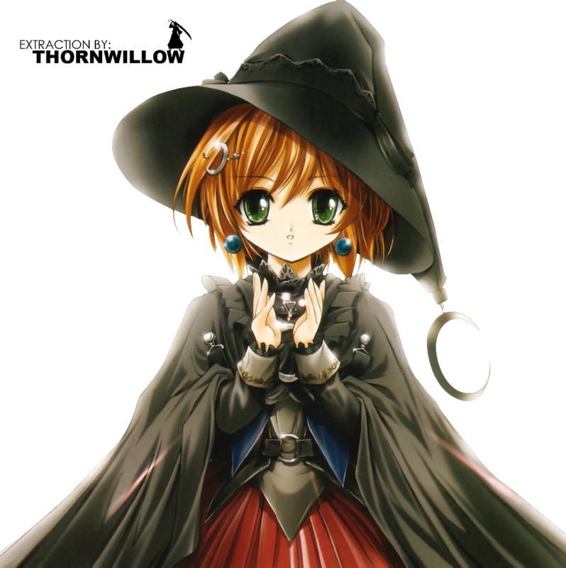 Anime photo by silverluna. Witch clipart beautiful witch