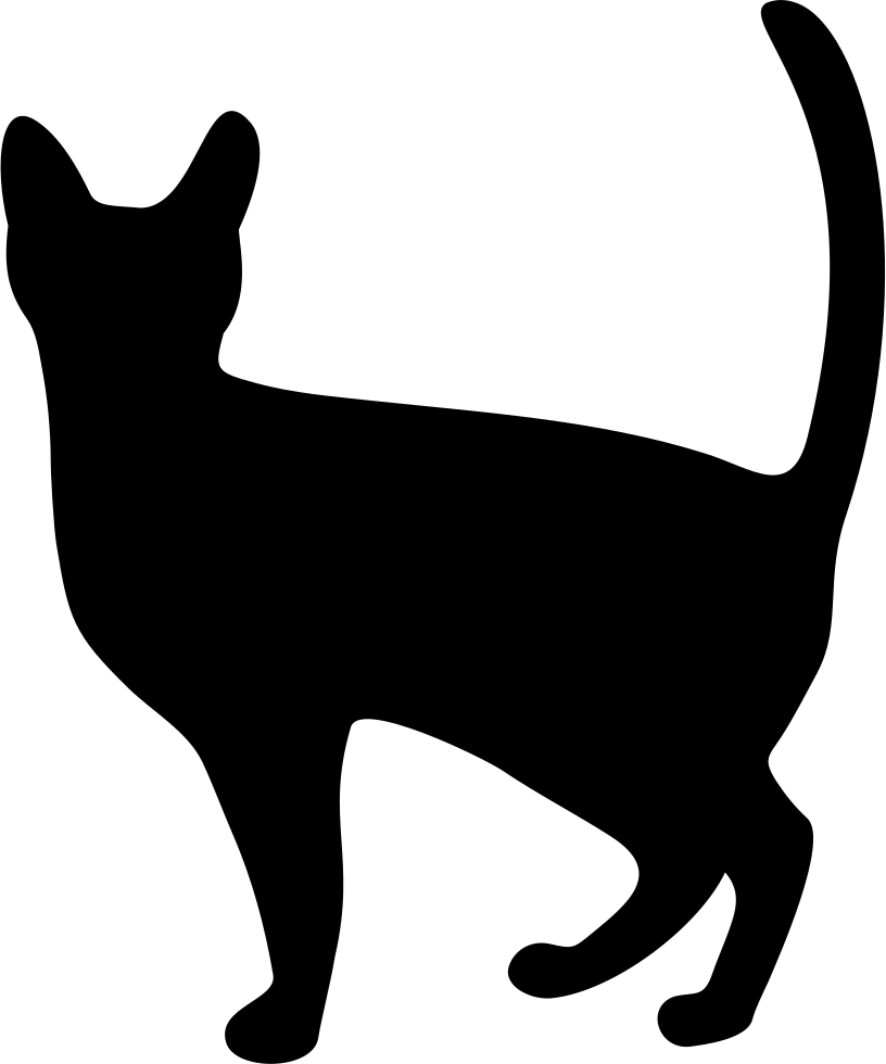 Svg png icon free. Witch clipart black cat