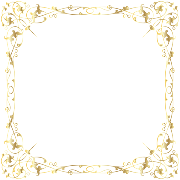 Decorative transparent png image. Witch clipart border