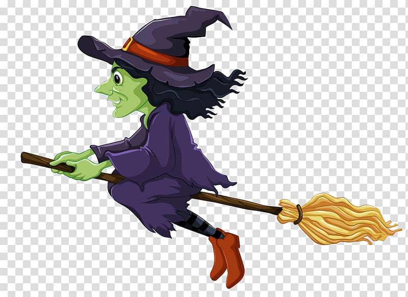 Witch clipart cartoon. Witchcraft halloween transparent background