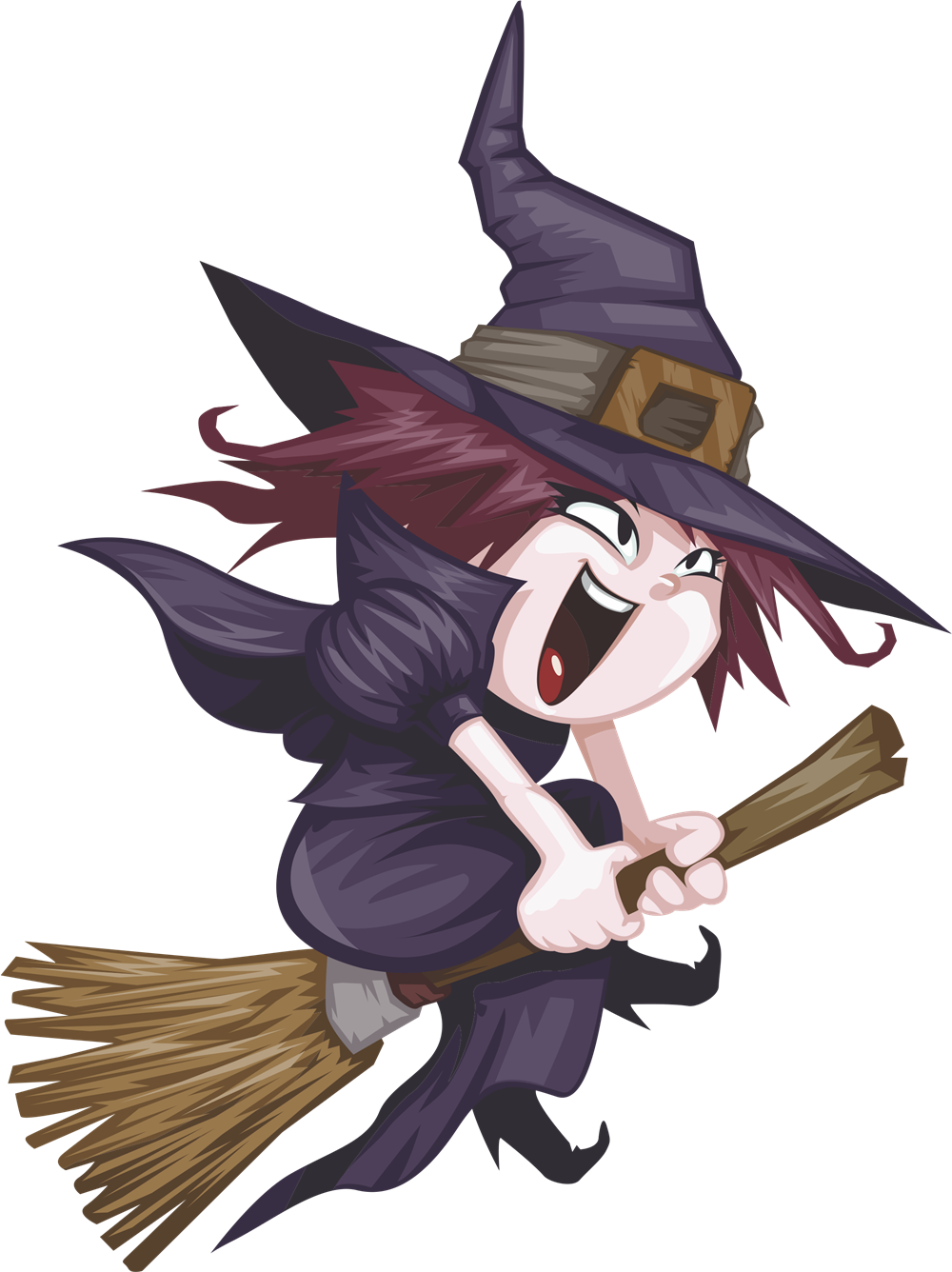Witch clipart crashed.  collection of free