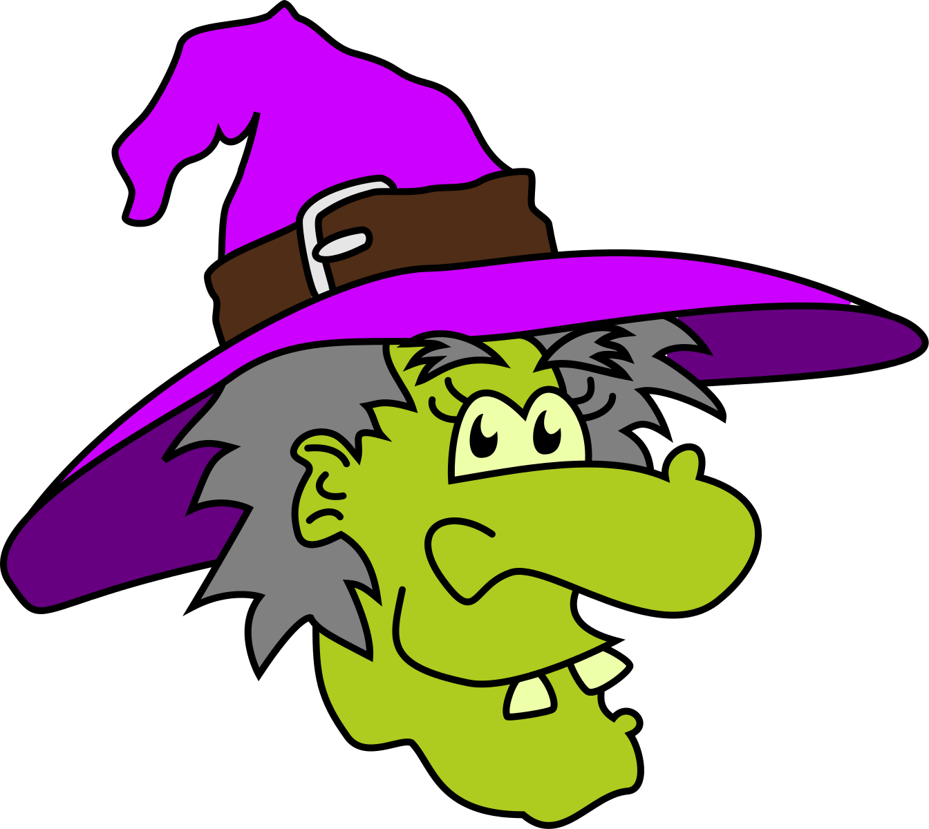 Witch clipart cute halloween character. Clip art