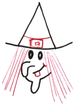 To draw drawing cartoon. Witch clipart easy