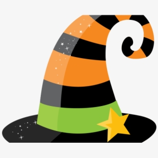 Witch clipart easy. Hat free halloween witches