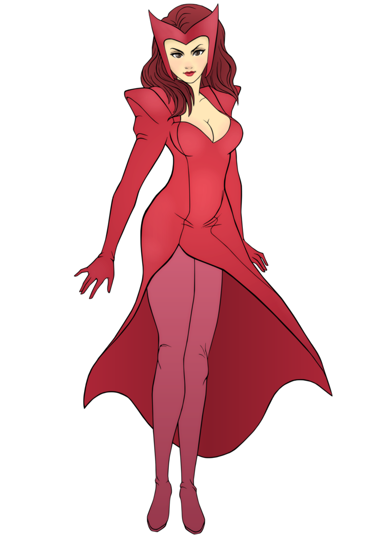 Witch clipart easy. Commission scarlet by r