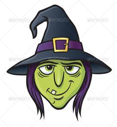 Witch clipart face. Pin on crafts