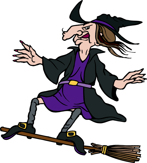 Witch clipart flying witch. Clip art hostted clipartix
